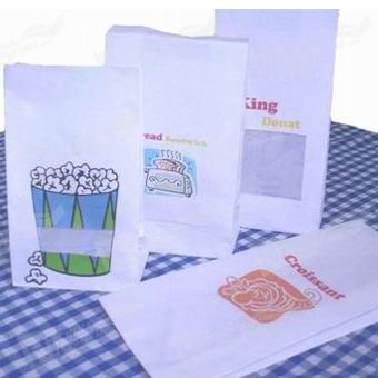 Fast Food Packing bags Printing
