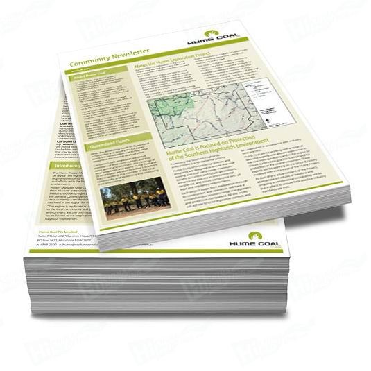 A4 Newsletters Printing