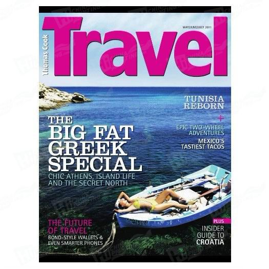 Travel Magazine Printing