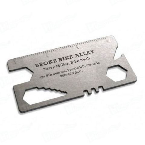 Die Cut Metal Business Cards