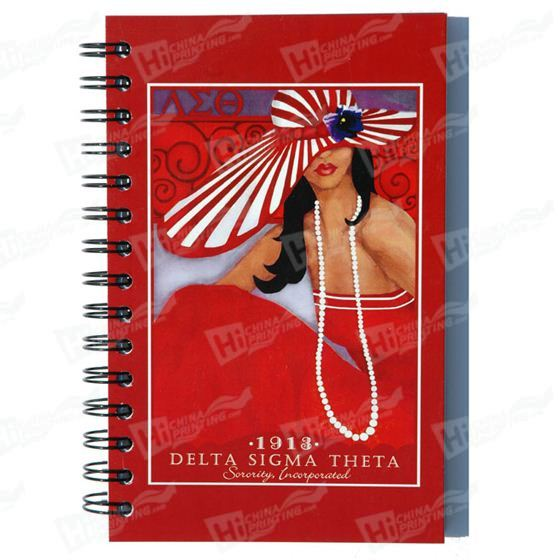 Full Color Digital Print Mounted on Board Notebook