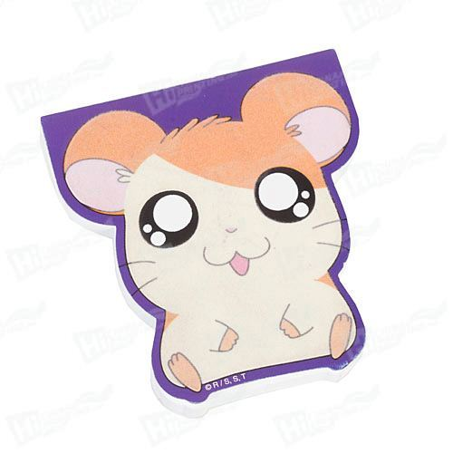 Hamtaro Flocked Die-Cut Notepads Printing