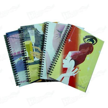 High Qualtiy Softcover Notebook Printing