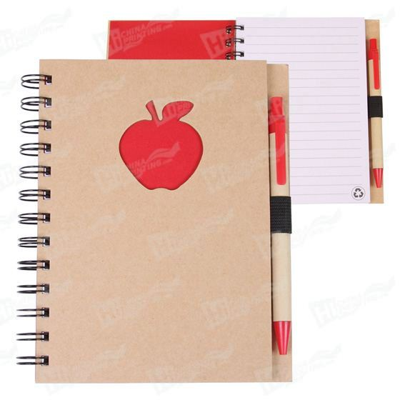 Notebook Printing With Apple Shape