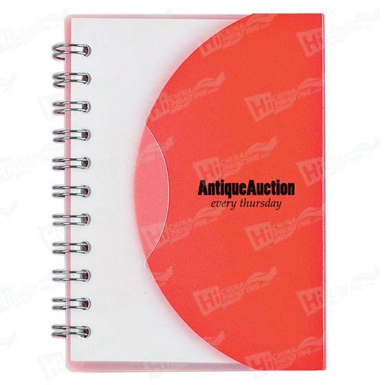 Spiral Notebook With Plastic Covers