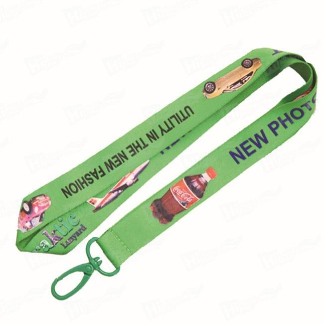 Lanyards With Heat Transfer Printed Logo