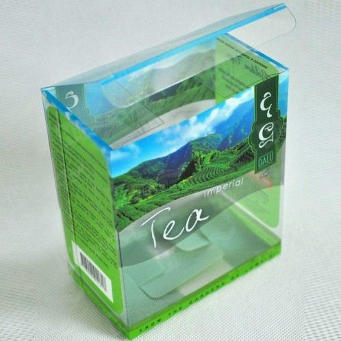 Transparent Plastic Box Printing