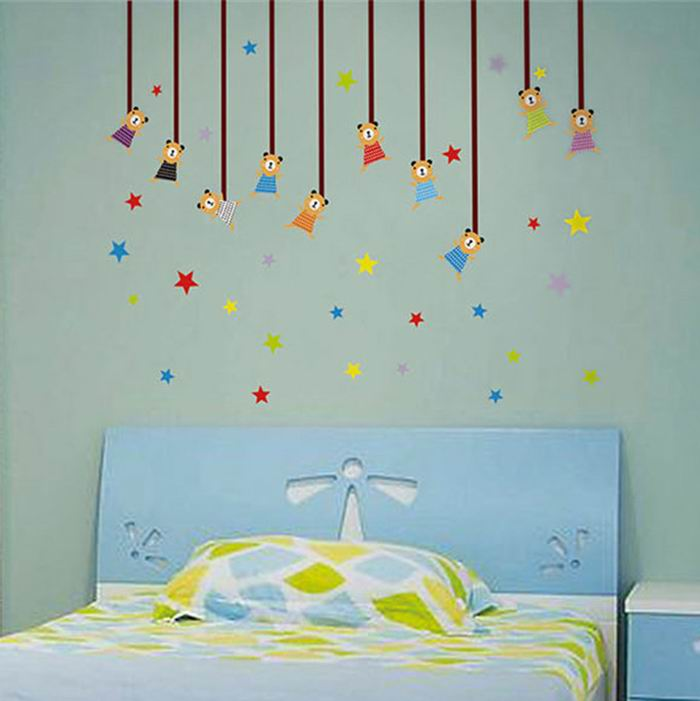 Decorative Paper Sticker of Stars