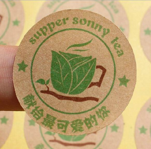 Die Cut Customized Paper Sticker For Promotion