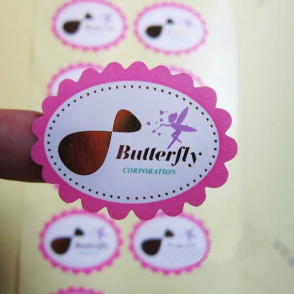 Different Butterfly Paper Sticker For Gifts