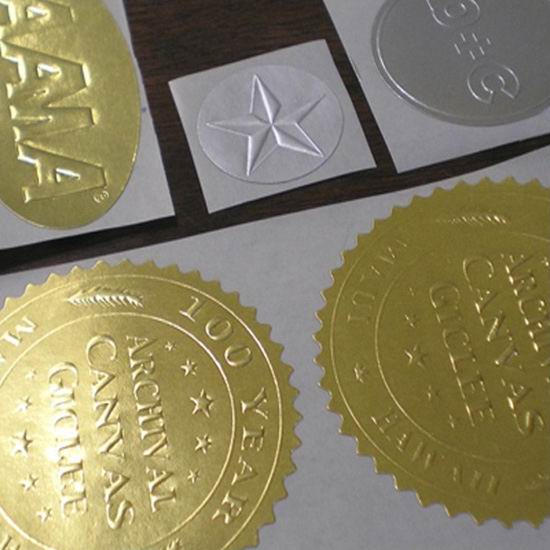 Embossed Labels Printing