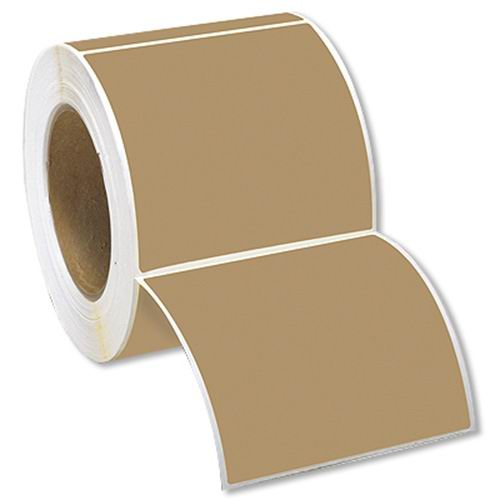 Kraft Roll Labels Printing