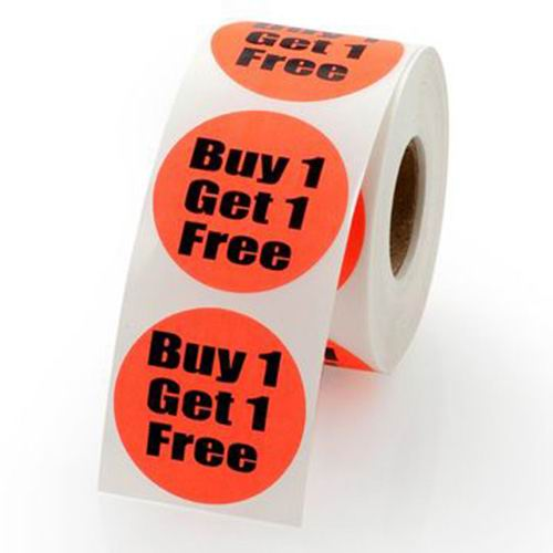 Promotional Full Color Price Tag Paper Stickers Printing