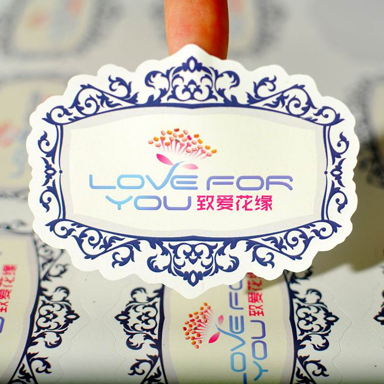 Removable Self-adhesive Paper Sticker Printing