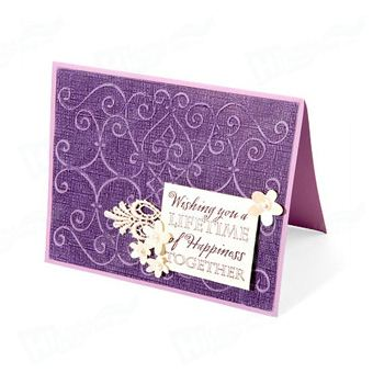 Embossing Wedding Cards Printing