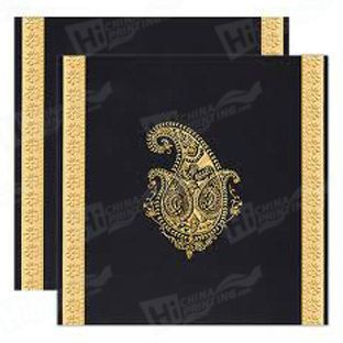Gold Stamping Wedding Cards Printing