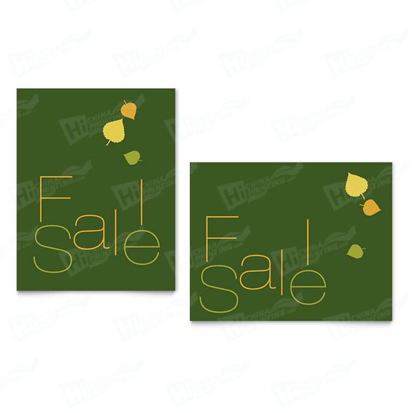 Falling Leaves Sale Posters Printing