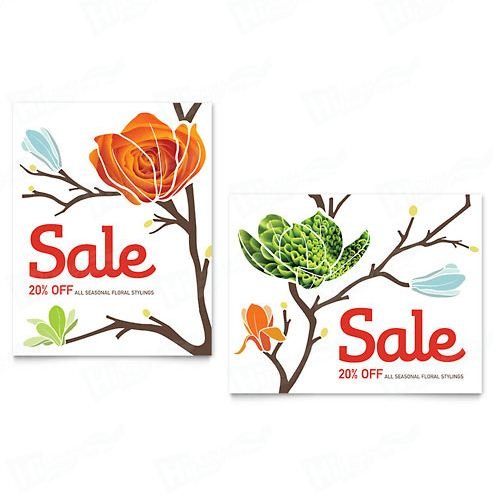 Flower Shop Posters Printing