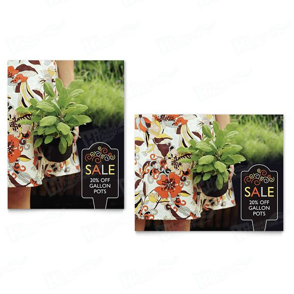 Garden Plants Sale Posters Printing