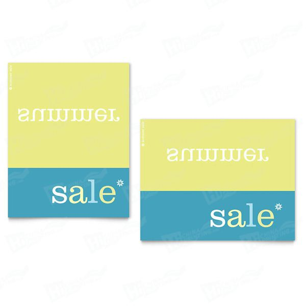 Inverse Upside Down Summer Sale Posters Printing
