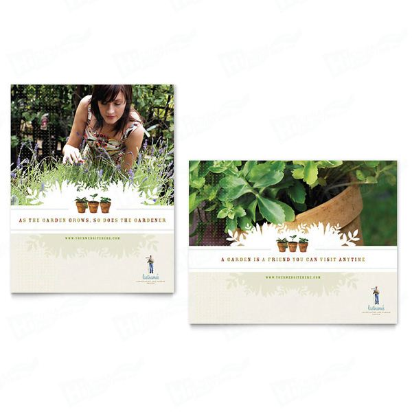 Landscape & Garden Store Posters Printing