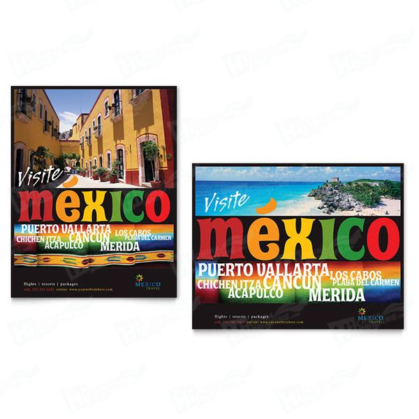 Mexico Travel Posters Printing