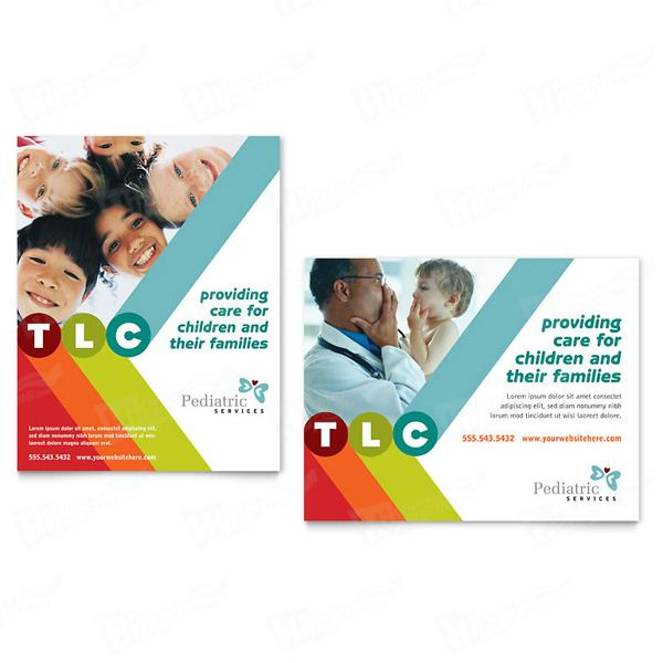 Pediatrician & Child Care Posters Printing