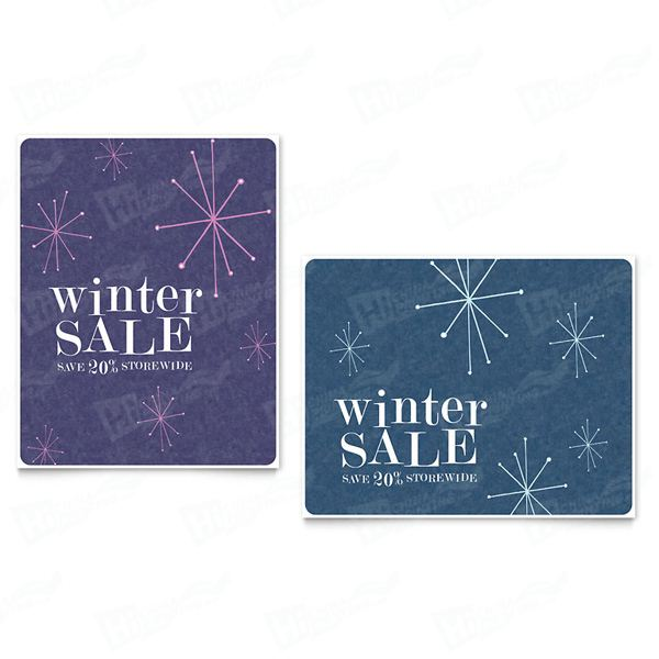 Snowflake Wishes Sale Posters Printing