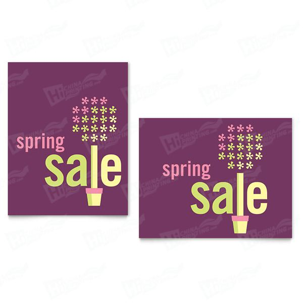 Spring Plant Sale Posters Printing