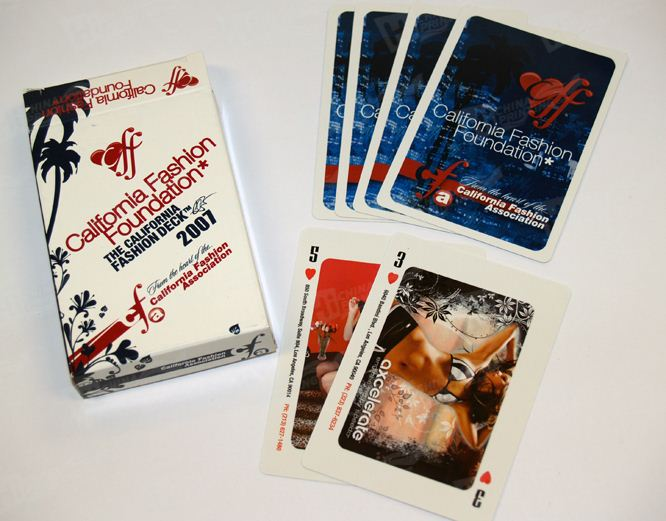 Plastic Coating Game Cards For Advertising Printing