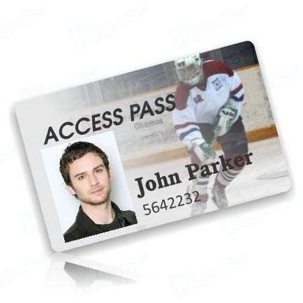 Sports Event ID Cards