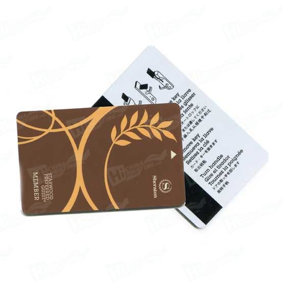 RFID Contactless Card With Hico Magnetic Stripe and Signature Panel