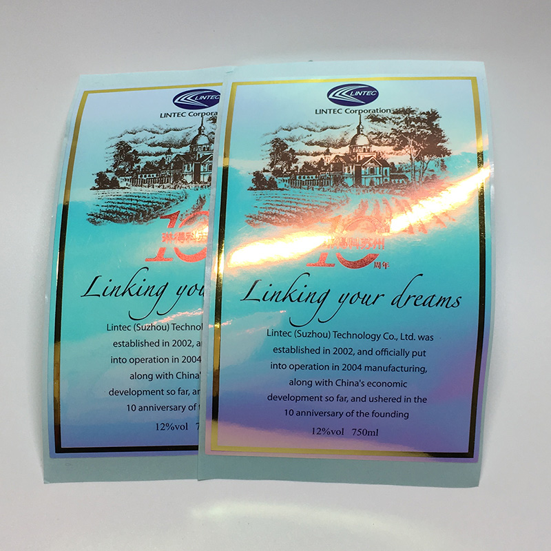 Gold Foil And Full Color Labels Printing Services