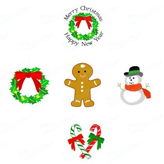 Christmas Stickers Printing