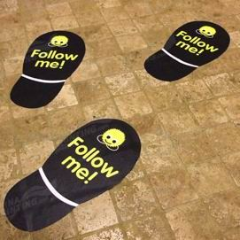 Floor Decals Printing