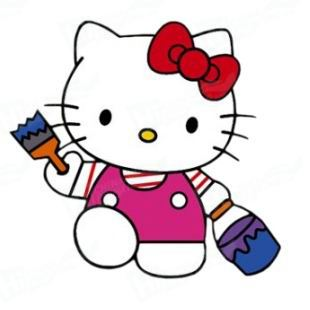 Hello Kitty Stickers Printing