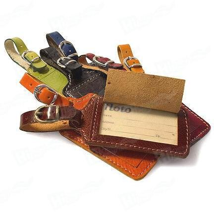 Genuine Leather Tags