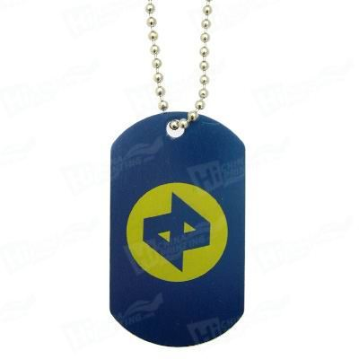 PVC/Teslin Plastic Key Tag (3 up)