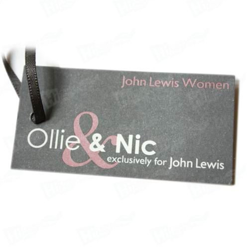 Pink Gold Foiling Tags Printing