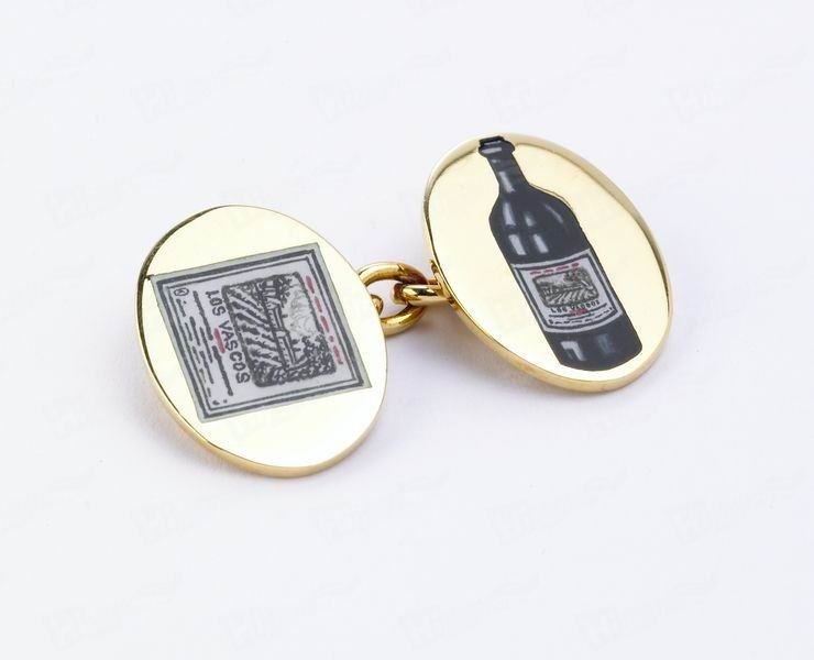 Wine Tag with Chains